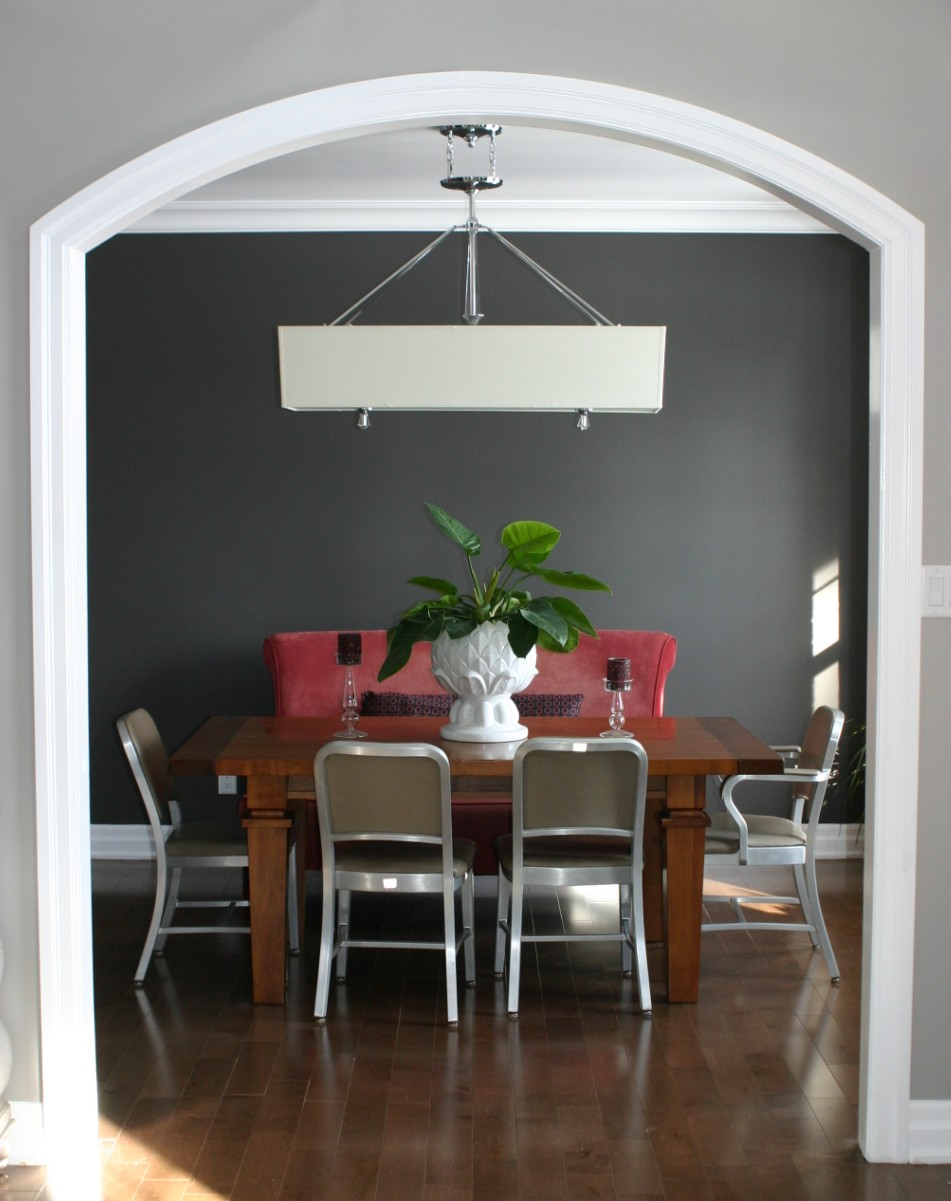 My dining room for Dining room grey walls