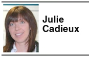 Julie Cadieux - Reporter for The Hudson St-Lazare Gazette