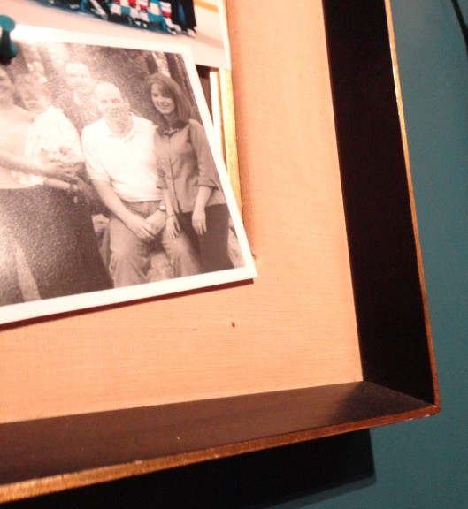 diy vintage photo peg board how-to
