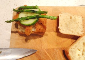 Fish Burger Slider