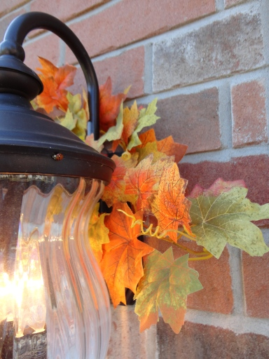 mini wreath outdoor FALL DIY